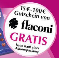Mit Kauf von Lindt Mini Pralinés Gutschein für flaconi ergattern
