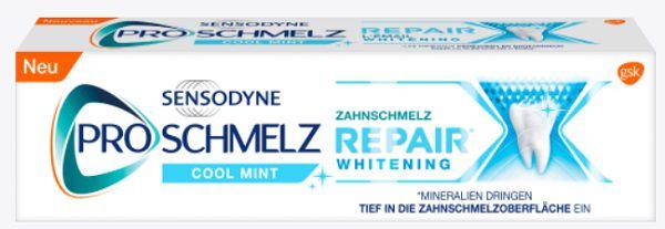 Sensodyne Pro Schmelz Zahnschmelz Repair Whitening gratis ausprobieren