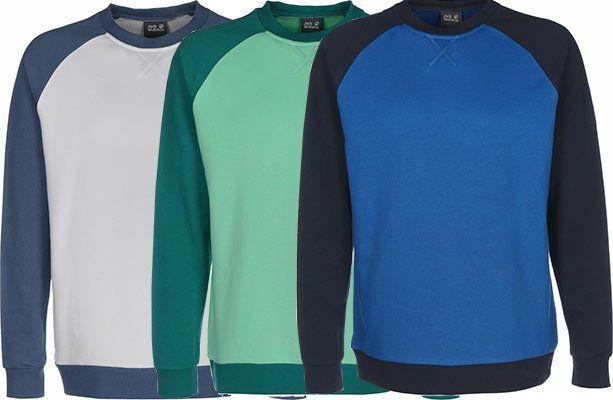 Jack Wolfskin 365 CREW M Pullover in 3 Farben für je 37,02€ (statt 46€)
