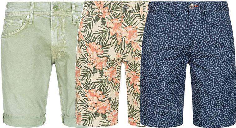 Pepe Jeans Journey Herren Bermuda Shorts in 11 Styles für je 22,13€ (statt 44€) (W28   W40)
