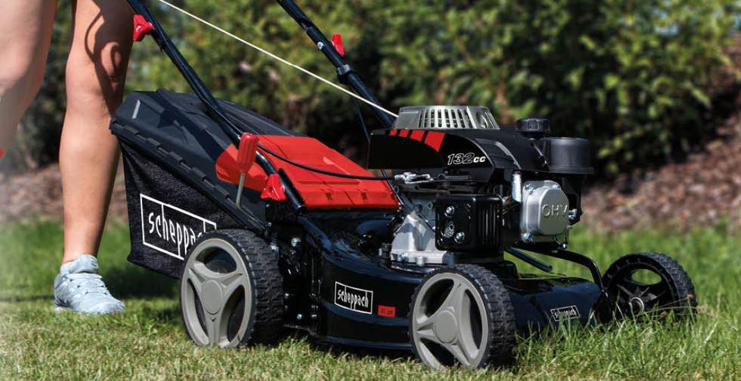 Scheppach Benzin Rasenmäher RM420 42cm Schnittbreite für 124,95€ (statt 145€) +gratis Motoröl