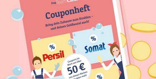Gratis Couponheft anfordern und damit bis zu 50€ sparen