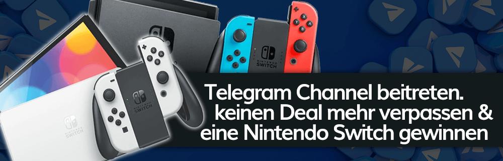 Telegram Gewinnspiel: wir verlosen eine Nintendo Switch OLED, eine Nintendo Switch und Amazon Gutscheine