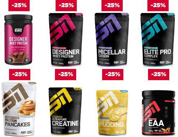 Fitmart mit 20% Rabatt auf alle ESN Produkte