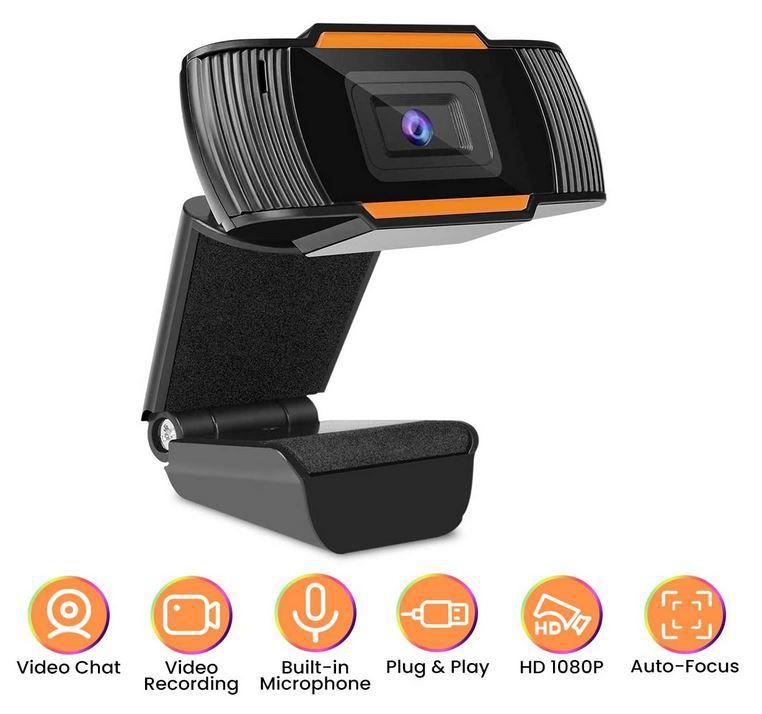MECO ELEVERDE Webcam auch für Videokonferenzen für 17,39€ (statt 29€)