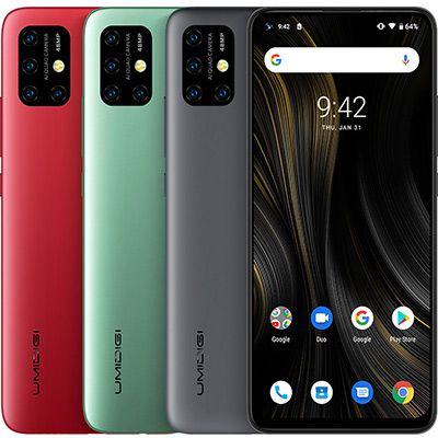 UMIDIGI Power3   6.53 Zoll FHD+ Smartphone mit Android 10 & 6150mAh Akku (!) für 139,99€