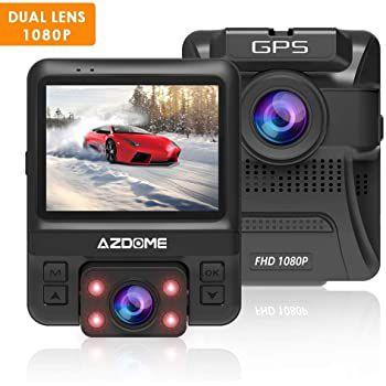 AZDOME GS65H   1080P GPS Dashcam mit Dual Lens & 170° Weitwinkel für 39,89€ (statt 70€)