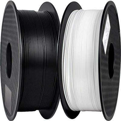 1kg TEQStone PLA oder ABS Filament (1,75 mm) in Schwarz oder Weiß ab je 17,49€ (statt 25€)