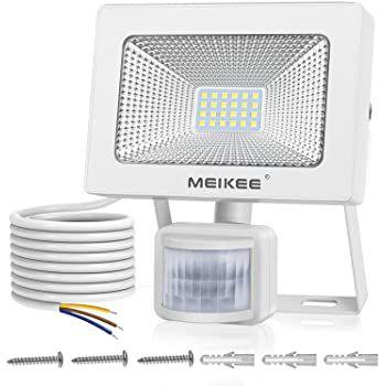 MEIKEE LED Außenstrahler mit Bewegungsmelder mit 20, 30 oder 54 Watt ab 15,39€ (statt 22€)