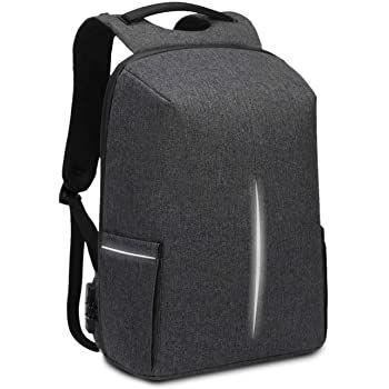 Bagio Rucksack mit Platz für 15,6 Zoll Laptops & USB Port für 12,99€ (statt 26€)