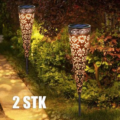 2x Görvitor LED Garten Solarleuchten IP65 für 15,99€ (statt 32€)