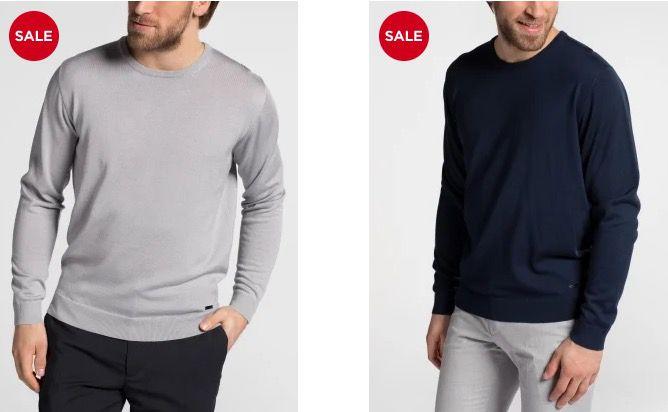 Eterna: 50% Rabatt beim Kauf von 2 Strick Artikel   z.B. 2 Pullover für nur 59,95€