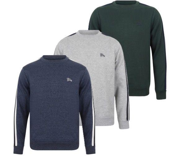 Tokyo Laundry Nocona Point Herren Sweatshirt für 9,99€(statt 21€)
