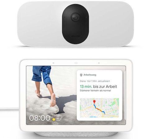 Arlo Pro 3 Floodlight Camera + Google Nest Hub für 289,95€ (statt 357€)