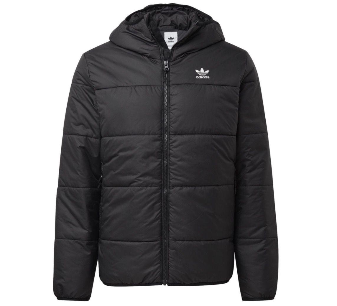 adidas Herren Winterjacke Hooded Jacket Padded für 48,90€ (statt 63€)
