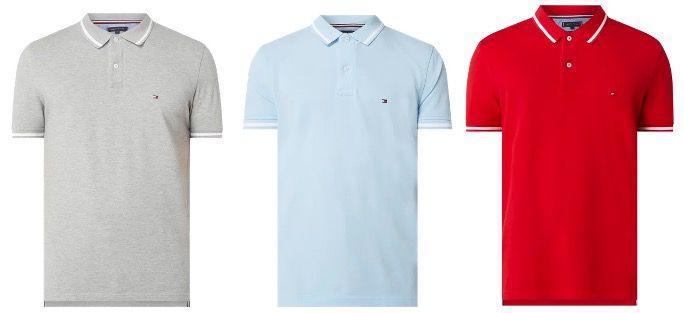 Tommy Hilfiger Regular Fit Poloshirt aus Piqué in diversen Farben für 34,99€ (statt 70€)