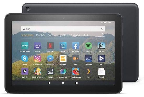 Amazon Fire HD 8 (2020) mit 32GB für 58,48€ (statt 97€)