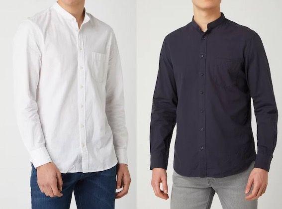 Montego Freizeithemd aus Baumwolle in Regular Fit für 6,99€ (statt 15€)   Restgrößen