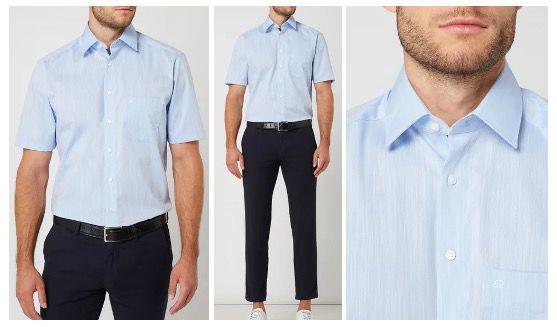 OLYMP Business Hemden Sale mit 30% Extra Rabatt   z.B. Kurzarm Hemd für 13,99€ (statt 30€)