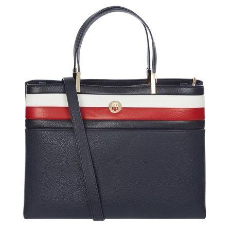 Tommy Hilfiger Satchel Corporate Handtasche mit unterteiltem Hauptfach für 90,99€(statt 110€)
