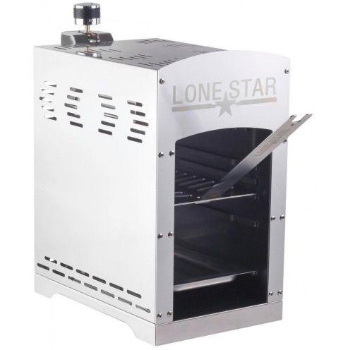 Ausverkauft: Beef Maker Lone Star Gasgrill mit bis 860°C inkl. Druckregler für 46,49€ (statt 70€)