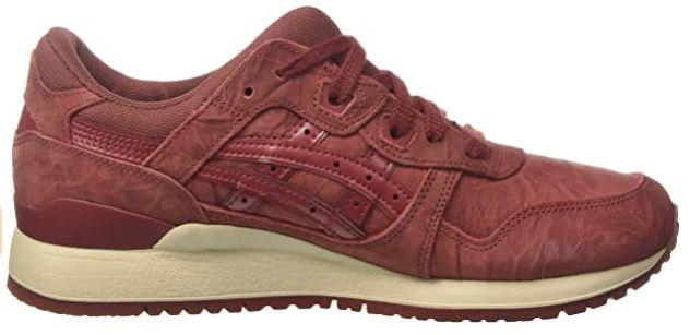 Asics Tiger GEL Lyte III Leder Sneaker in Russet Brown für 43,94€ (statt 71€)