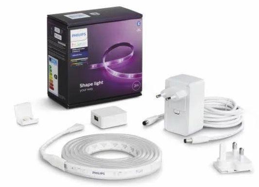 Philips Hue Lightstrip 2m Basis Bluetooth (neue Version) für 52,34€ (statt 71€)
