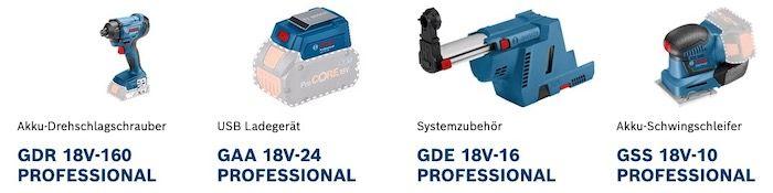 Bosch Professional Tool für mindestens 199€ netto kaufen   gute Prämien abstauben