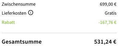 Bis 17 Uhr! 24% Rabatt auf ausgewählte Samsung Artikel: z.B. Samsung Galaxy S20 128GB für 531,24€ (statt 608€)