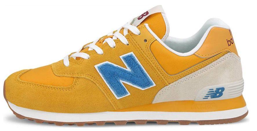 New Balance 574 Kult Sneaker in Gelb für 56,66€ (statt 72€)   nur 44 bis 46