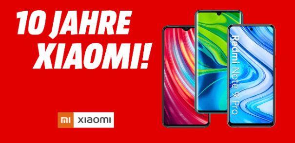 10% Rabatt auf ausgewählte Xiaomi Smartphones   z.B. Mi 10 Lite 128GB 273,50€ (statt 305€)