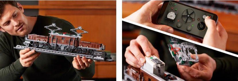 Lego Krokodil Lokomotive (10277) aus 1.271 Teilen für 89,99€(statt 100€)