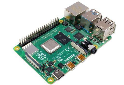 Raspberry Pi 4 Modell B mit 4GB und ARM Cortex A72 für 47,96€ (statt 56€)