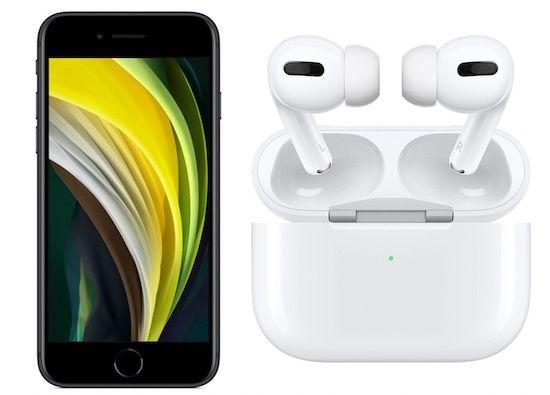 Apple iPhone SE (2020) 64GB + Apple AirPods Pro für 4,99€ + Vodafone Flat mit 15GB LTE für 34,99€mtl.
