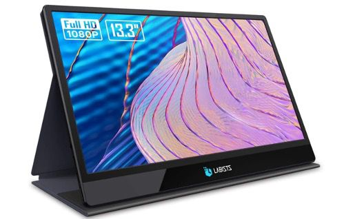LABISTS Tragbarer 13,3 Gaming Monitor Full HD mit IPS Bildschirm für 122,99€ (statt 180€)