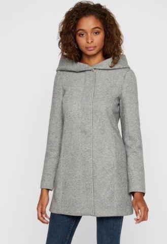 Vero Moda Damen Übergangsmantel aus weichem Stoffmix für 19,89€ (statt 34€)   XS, S, M