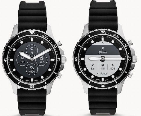 Fossil HR FB 01 Hybrid Smartwatch mit Silikon Armband für 139€ (statt 194€)