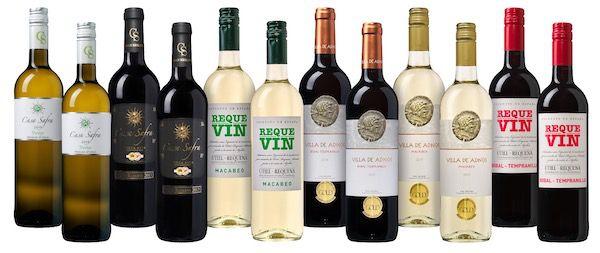 Großes Weinpaket Spanischer Sommer mit 12 Flaschen für 54,99€