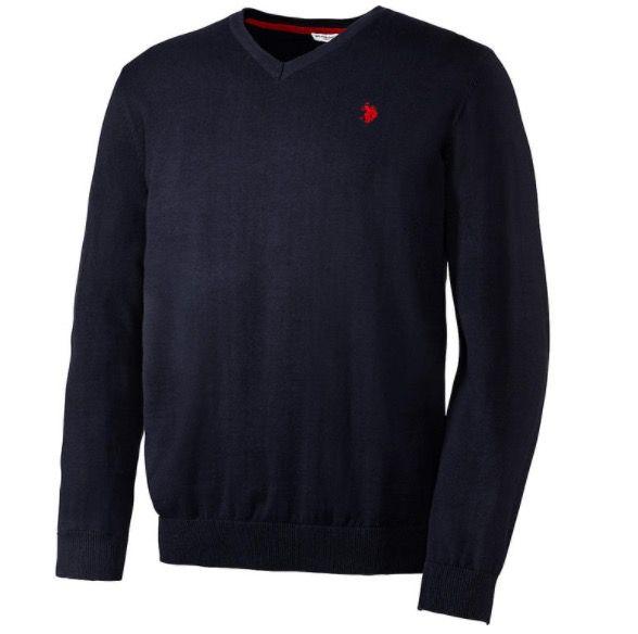 U.S. Polo Assn. Baumwoll-Pullover div. Farben für je 25,54€(statt 35€)