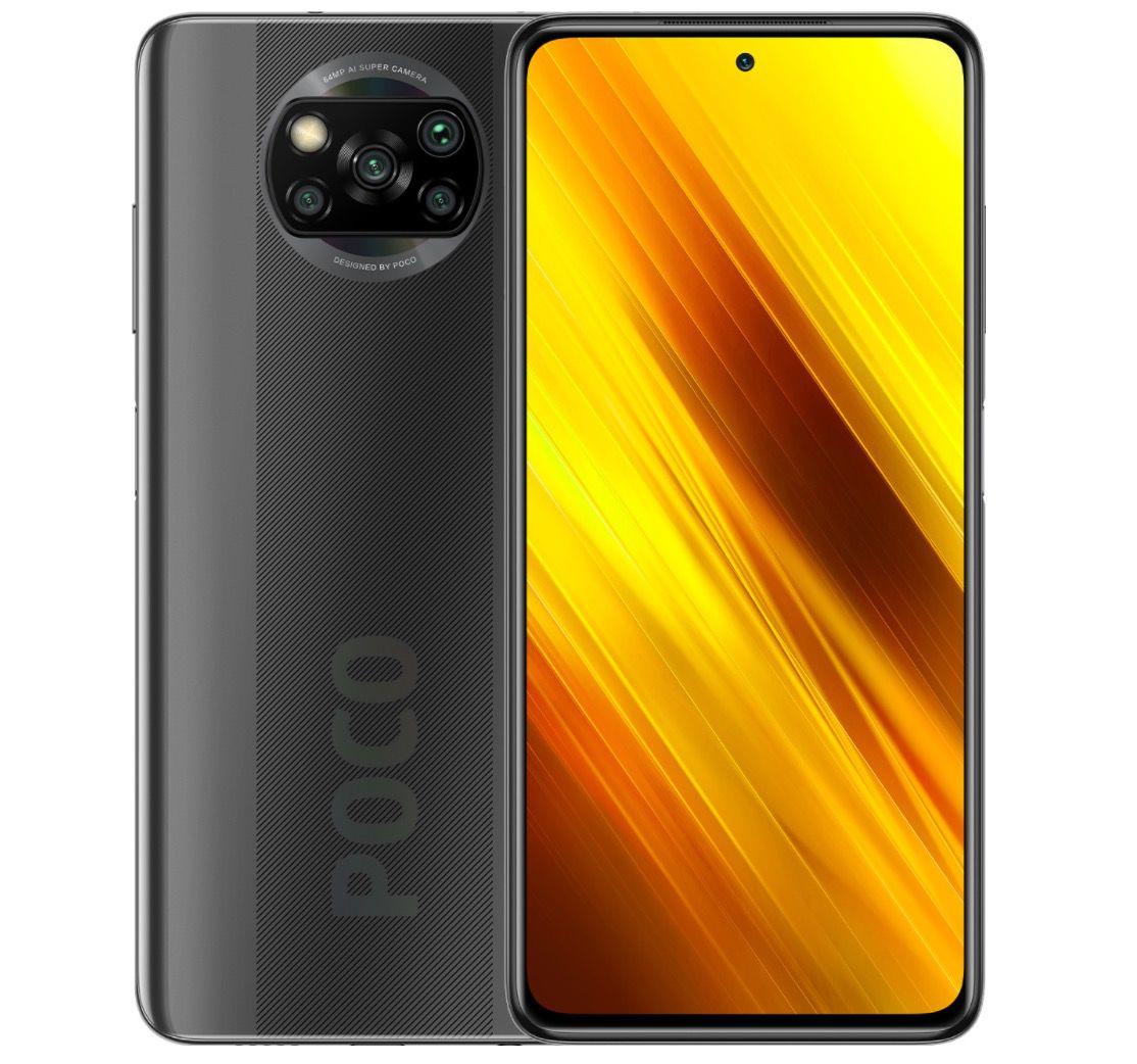 Poco X3 NFC Smartphone mit 120Hz + 6/64GB inkl. Rucksack für 169,19€ (statt 185€)