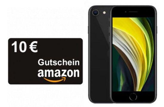 Apple iPhone SE (2020) 128GB für 99€ + 10€ Amazon Gutschein + Telekom Flat von Congstar mit 8GB LTE für 20€ mtl.