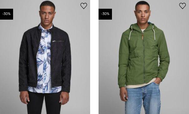 Jack & Jones: 30% Rabatt auf Jacken und Mäntel + 5€ Gutschein ab 50€