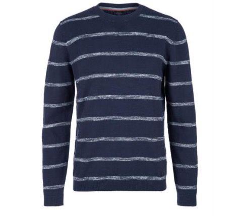 s.Oliver Strickjersey Pullover in Blau für 19,89€ (statt 29€)