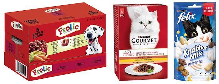 5 für 4 Haustier Artikel bei Amazon – z.B. 5x Kitekat Katzenfutter Nassfutter für 31€ (statt 39€)