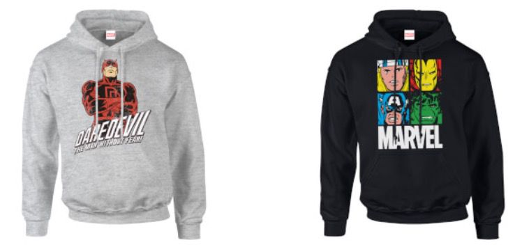 Marvel Hoodies für je nur 20,90€ oder Pullover 17,99€ (statt 29€)   über 800 Motive