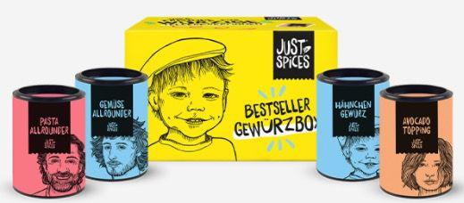 6 Ausgaben InStyle + Just Spices Gewürzbox für 25€
