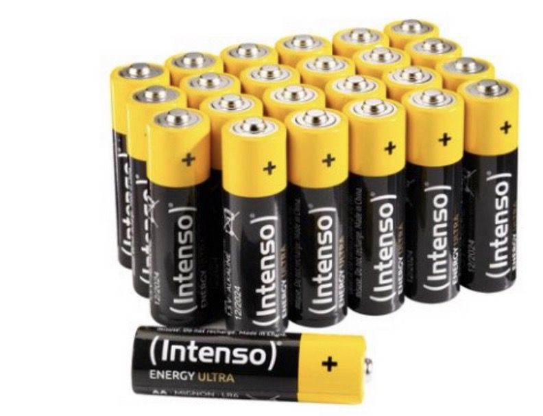 40 x Intenso Energy Ultra AA Mignon LR6 Alkaline Batterien für 6,69€   Prime