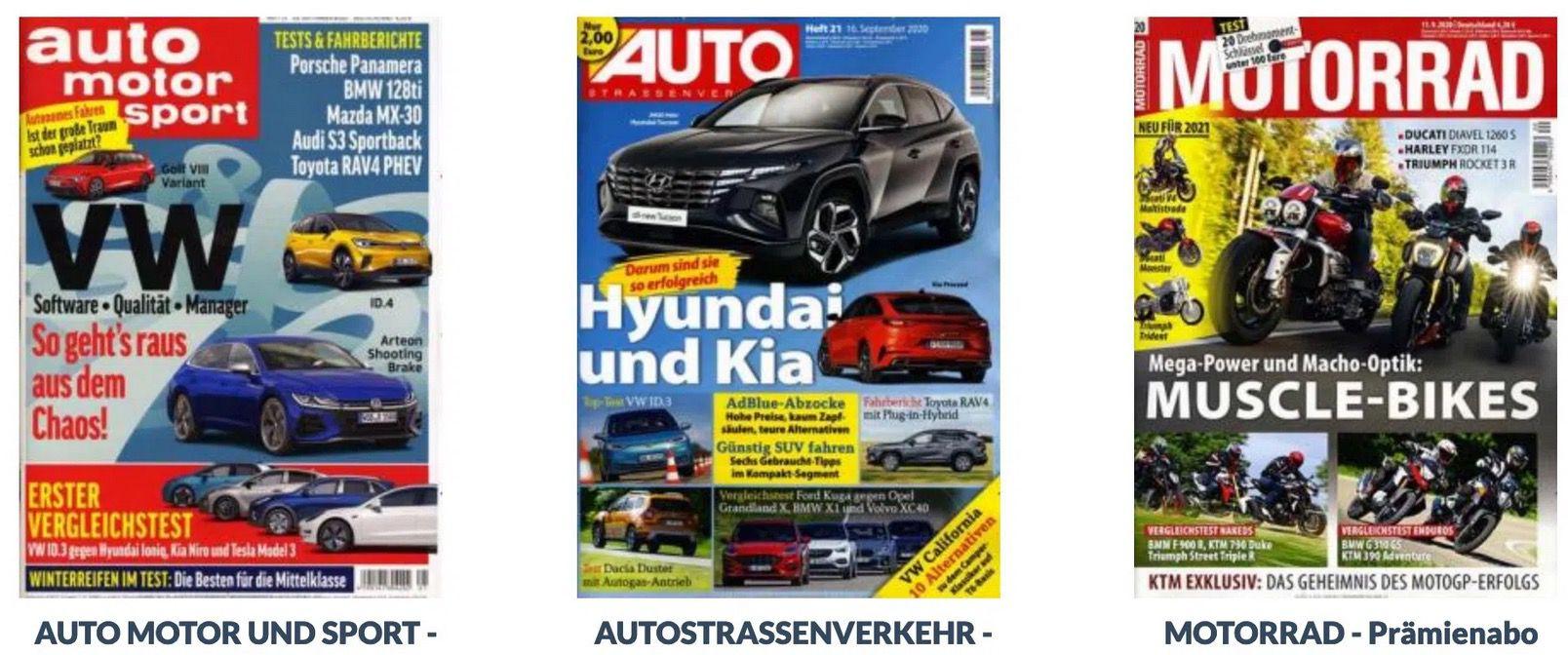 DPV Herbstkampagne   Viele Abos mit guten Prämien – z.B. Auto Motor und Sport für 99,90€ + 90€ Prämie