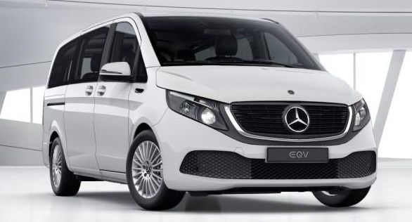 Mercedes V 300 EQV Elektro Van mit 204 PS für 475,33€   LF: 0.69