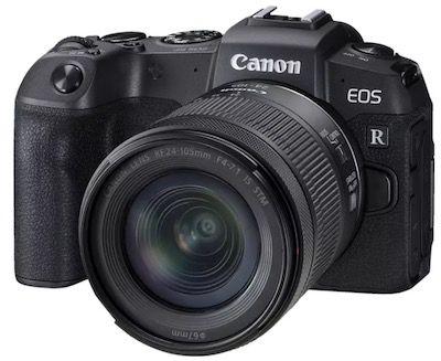 Canon EOS RP Kit Systemkamera mit Objektiv 24 105 mm für 1.101€ (statt 1.366€)